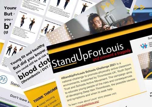 StandUpForLouis Schools Challenge 2021